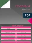 Chapter 4 Database Management (Summary PPT2007)