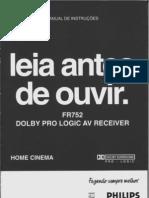 Manual Home Cinema Fr752