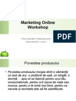 Curs 2 - Despre Creativitate in Marketing Online