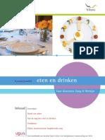 Kennisbundel Eten en Drinken