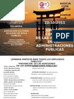 PROGRAMA JORNADAS CONTROL DE LAS AGRESIONES EN LAS ADMINISTRACIONES PUBLICAS