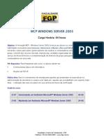Dicas Mcp Server 2003
