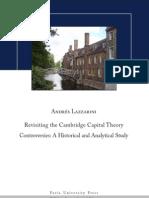 Revisiting the Cambridge Controversies, Lazzarini (2011)