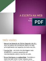 A Escrita Na Web Em Ppt