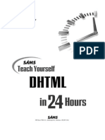 DHTML in 24 Hours