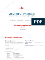 VC Backed MA Snapshot Q3 2011