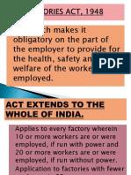 Factory Act Presentation
