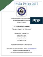 Conversatorio Invitacion 19Oct2011