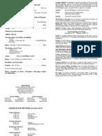 10-16-11 Bulletin