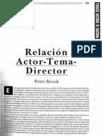 Peter Brook - Principios de direccion escenica