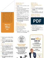 """Council President Pugh's """"What You Can Do"""" Brochure"""