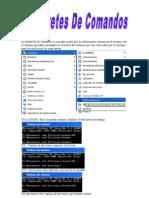 El intérprete de comando es una aplicación que se utiliza para comunicar al usuario con el sistema operativo mediante la escritura de órdenes que son conocidas por el sistema para la realización de unas tareas
