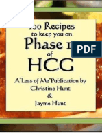 Sample eBook - 100 Recipes HCG