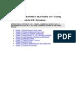 2011 CCG Saudi Arabia