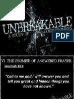 Unbreakable Week 6