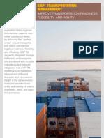 8 SAP Transportation Management