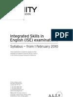 ISE Syllabus 2010-2013 (1)