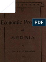 Kosta Stojanovic Economic Problems of Serbia