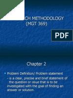 CHAPTER 2- Problem Definition