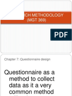 CHAPTER 7- Question a Ire Design