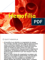 Trabalho Hemofilia Slides