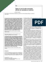 ion a Al Uso de Redes Neuron Ales Para Aplicacion en Medicina
