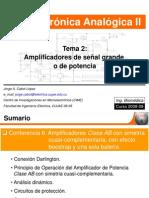 Conf 6. Amplificadores de Potencia Clase AB Cuasi Complement Aria y Una Sola Bateria (1)