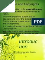 Environmental Issues Public