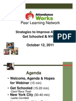 Strategies to Improve Attendance