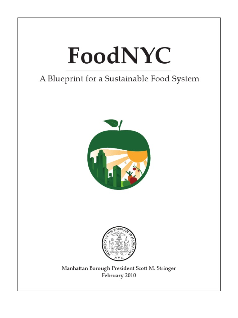 Food NYC: A Blueprint For A Sustainable Food System | Urban Agriculture |  Farmersu0027 Market