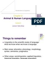 2Animal & Human Language