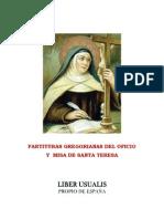 Liber Usualis. Santa Teresa