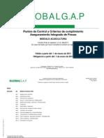 SALMONGAP - Puntos de Control Modulo de Acuicultura