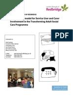 Developing a Model for Involvement in Social Care (Redbridge)