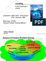 (eBook) Creative Problem Solving - Brain Power Consulting