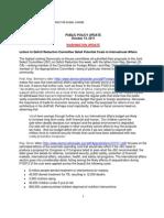 Public Policy Update 10-14-11
