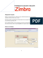 Zimbra User Manual-mail Sagrado
