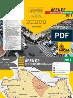 Mapa de restricción vehicular