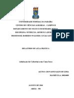 TRABALHO DE ADUBOS CANA DE AÇÚCAR