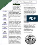 2007-03 Newsletter