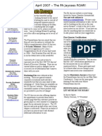 2007-04 Newsletter