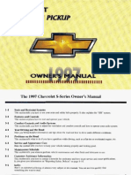 Manual Chevrolet S-10