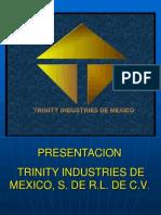 Presentacion de Trinity Industries de Mexico