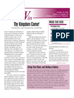 Living to Win - October 2011