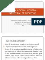 Introduccion Al Control Industrial de Procesos