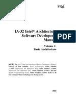 Volume1 Basic Architecture