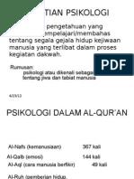 PENGERTIAN Psikologi1