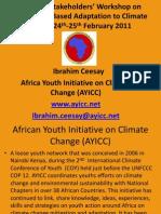 AYICC-GU Presentation Ibrahim Ceesay