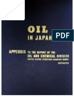 USSBS Report 52, Oil in Japan's War, Appendix