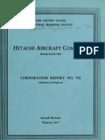USSBS Report 22, Hitachi Aircraft Company